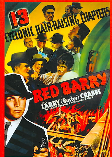 RED BARRY BY CRABBE,BUSTER (DVD)